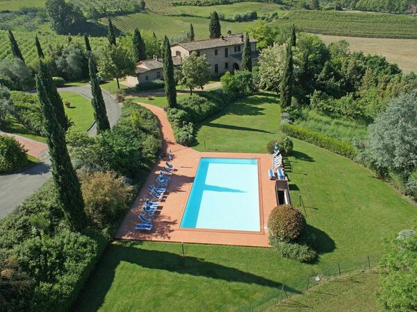 Le Colline, Apartment for rent in Montaione, Tuscany