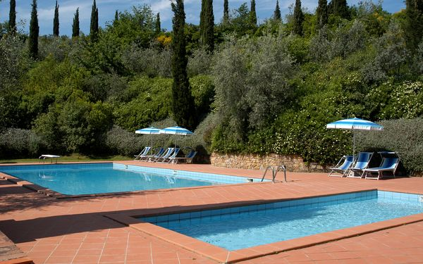 La Valle, Apartment for rent in Montaione, Tuscany