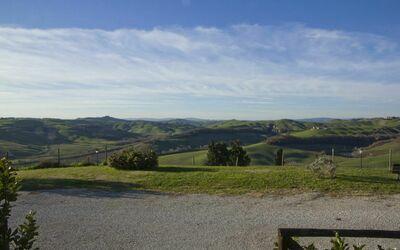 La Casa Del Sole Di Siena: View from the house