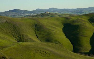 La Casa Del Sole Di Siena: The view