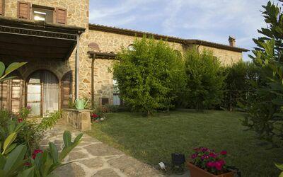 La Casa Del Sole Di Siena: The private garden