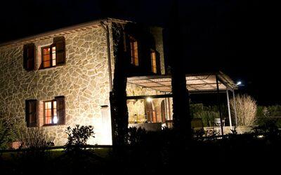 La Casa Del Sole Di Siena: The house in the night
