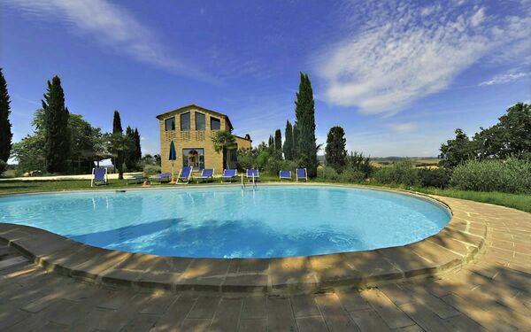 Quarantallina, Apartment for rent in Buonconvento, Tuscany