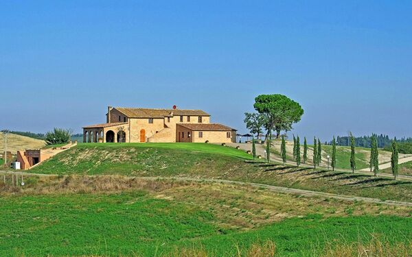 Villa Poggino, Villa for rent in Murlo, Tuscany