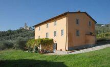Villa Teto in  Petrognano -Toskana