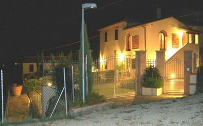 Antico Fienile: Exterior by night