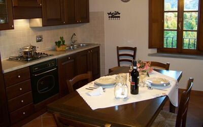 Antico Fienile: Large and well equipped kitchen