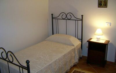 Antico Fienile: Bedroom n. 2 - single bed.