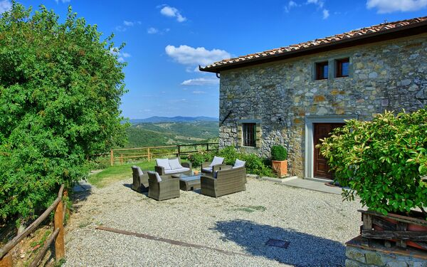 Villa Saverio, Villa for rent in Castellina In Chianti, Tuscany