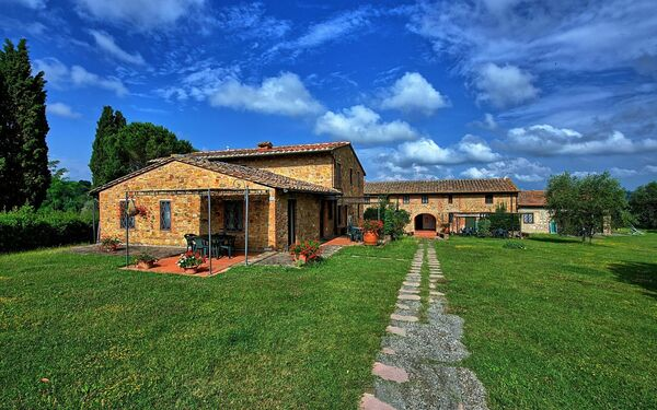 Le Chiavi Di Aietta, Apartment for rent in Montaione, Tuscany