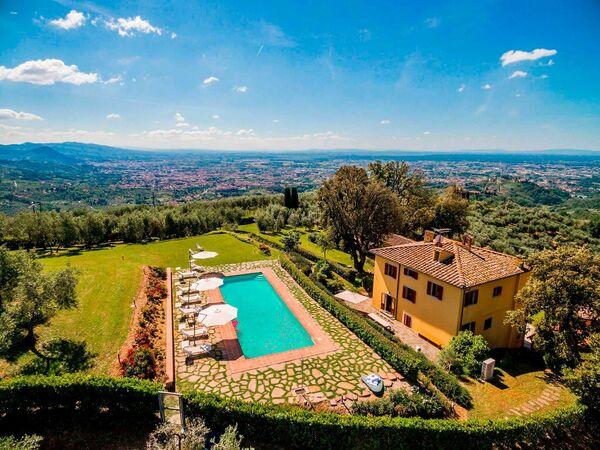 Villa Sopra, Villa for rent in Pistoia, Tuscany