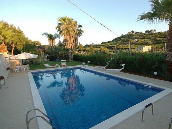 Villa Trappeto, Villa for rent in Trappeto, Sicily