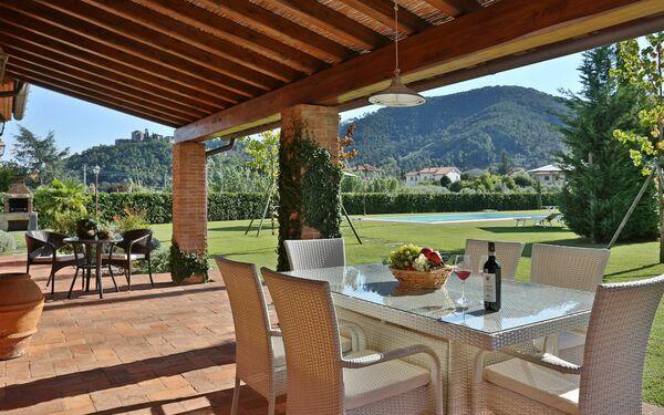 Le Vigne, Villa for rent in Castelvecchio, Tuscany