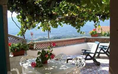 Casa Donati: Terrace area in the sun