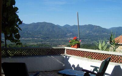 Casa Donati: view on the valley