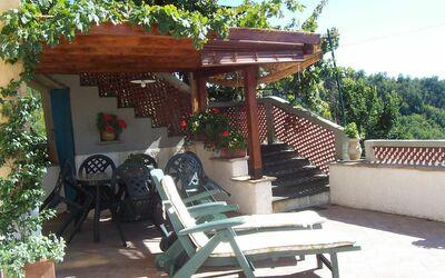 Casa Donati: Terrace