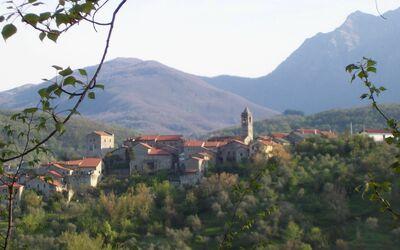 Casa Donati: View of the village