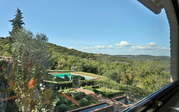 Acquerello, Villa for rent in Panzano In Chianti, Tuscany
