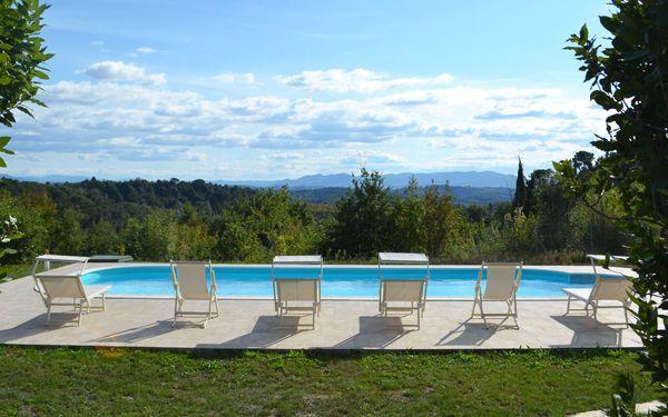 Il Rosino Alto, Villa for rent in Palaia, Tuscany