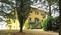 Toskánsko, Montegemoli, Villa Di Montegemoli