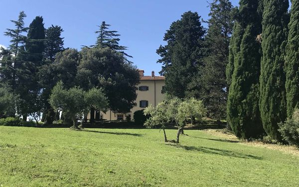 Villa Di Montegemoli, Villa for rent in Montegemoli, Tuscany
