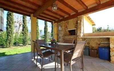 Villa Antonella: Terrasse