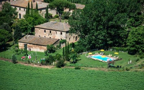 San Fabiano, Country House for rent in Monteroni D'arbia, Tuscany