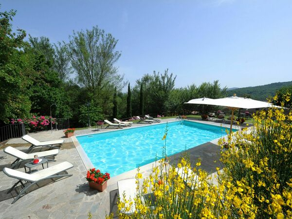 Villa Anghiari, Villa for rent in Anghiari, Tuscany