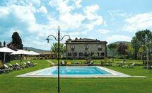 Toskánsko, Pieve a Presciano, Villa Marika