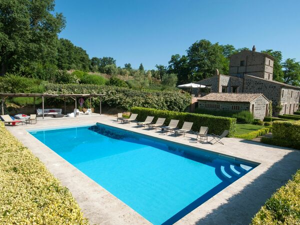 Casale Porano, Villa for rent in Porano, Umbria