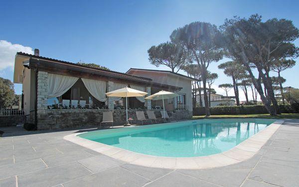 Toskánsko, Lido Di Camaiore, Villa Della Diva