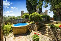 Villa Villa Piazza Della Fortezza in affitto a Montalcino