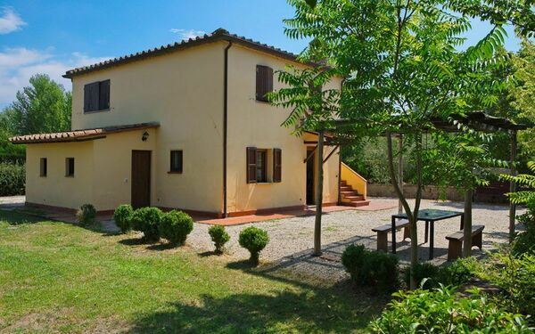 Villa La Fragola, Villa for rent in Chianacce, Tuscany