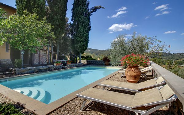 Villa Stolli, Villa for rent in Ponte Agli Stolli, Tuscany