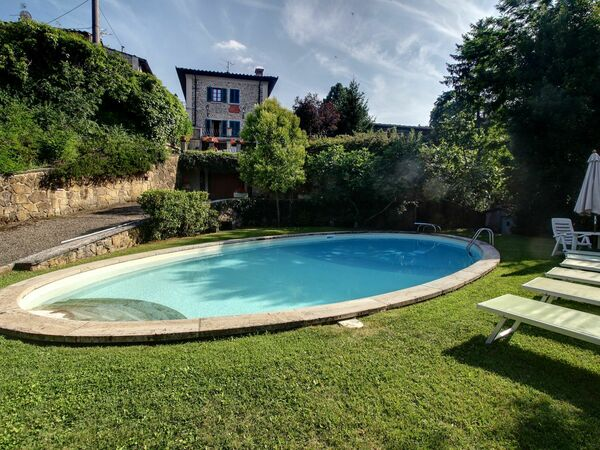 Villa Lucolena, Villa for rent in Lucolena In Chianti, Tuscany