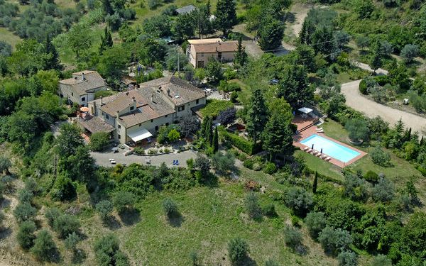 Monte San Michele a Polvereto, Country House for rent in Polvereto, Tuscany