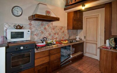 Il Nido In Garfagnana: View of the kitchen