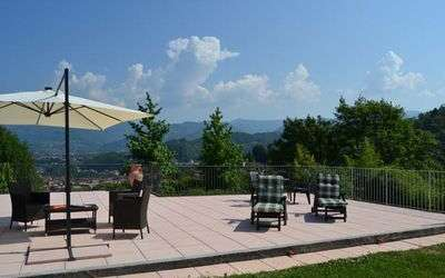 The Nest In Garfagnana: Panoramic terrace