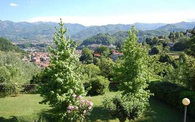 The Nest In Garfagnana: Panoramic view from our terrace