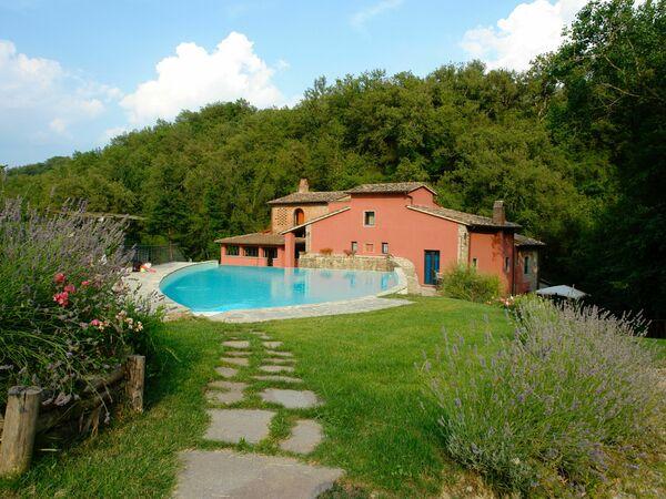 Mulino a Montegonzi Di Rimaggio, Villa for rent in Montegonzi, Tuscany