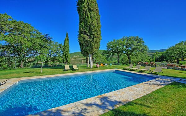 Villa Vertine, Villa for rent in Vertine, Tuscany