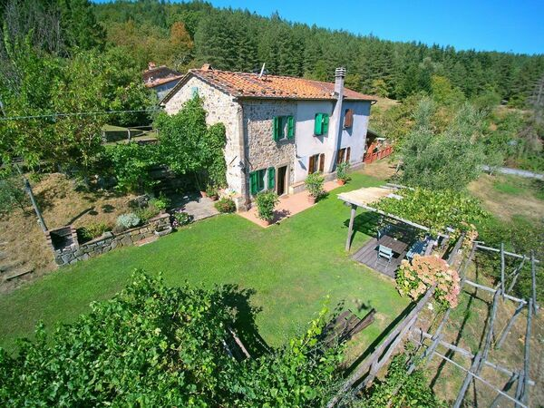 Le Ciocche, Holiday Home for rent in Lanciole, Tuscany