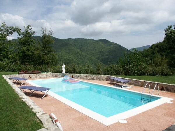 La Sella, Holiday Home for rent in Pescaglia, Tuscany