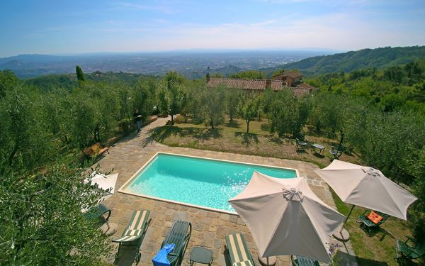 Ferienhaus La Melia in  Borgo a Buggiano -Toskana