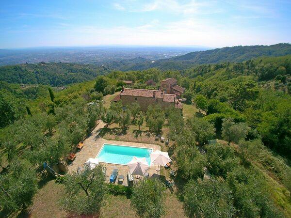 Berso, Country House for rent in Buggiano, Tuscany