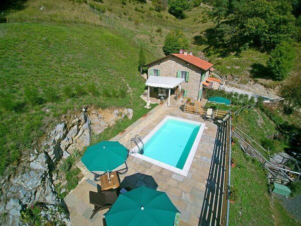Toskánsko, Pescaglia, Casa Sara