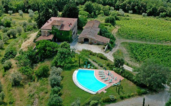 Residence Fattoria Di Quercia Al Poggio in affitto a Barberino Val D'elsa