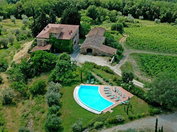 Fattoria Di Quercia Al Poggio, Residence for rent in Barberino Val D'elsa, Tuscany