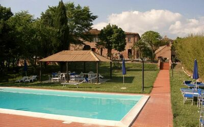 Agriturismo Il Gattero: the house with pool