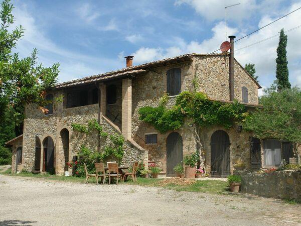 Toskánsko, San Gimignano, Le Sodole